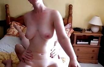 36 Year Old Young Milf Face Sitting and Fucked By Husband