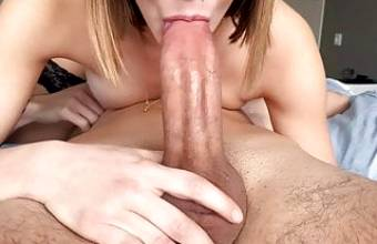 69 Blowjob With Thick Dick And Big Cumshot In Mouth!
