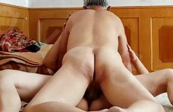 Asian Grandpa Creampies Prostitute