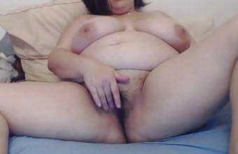 BBW fingering herself – French Amateur