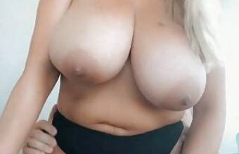 Big Natural Tits Blonde Sex on Balcony & Cum on Boobs