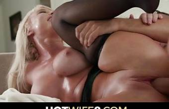 Big Titty Milf Hot Wife Fucks Her Hubby's Selected Friend
