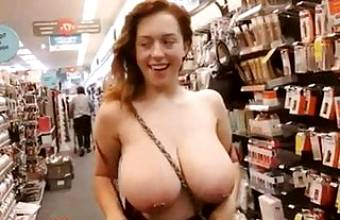 Busty Girls Reveals Her Boobs – Titdrop Compilation Part.16