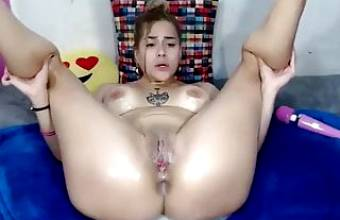 Crazy Squirting Slut Online