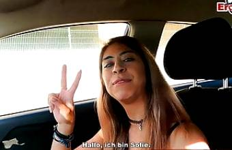 EroCom Date – USER MEETS AND FUCKS SPANISH TEEN AT AIRPORT, POV