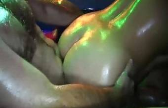 extreme oiled groupsex orgy