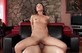 fucked by my step dad, had to swallow his cum