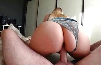 German Girl with a Big Ass Loves to Fuck – Cute Teen Girl