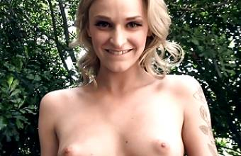 Hot Young Skinny Blonde Teen Fucked By Stranger For Cash POV