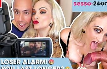 Loser cums after 5 minutes: MARY RIDER – SESSO-24ORE.com