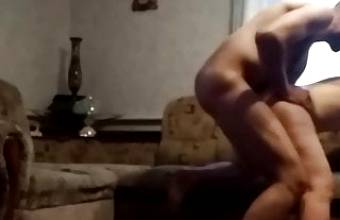 Mature fucked by lover.Hidden cam