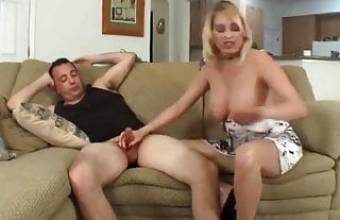 ROLEPLAY-Mom Comes Home Drunk and Horny