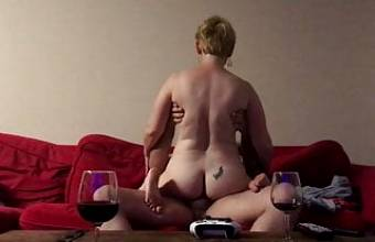 Sex and TV with MILF