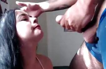 Sexy Colombian Hairjob and Hairplay