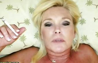 Smoking, Sucking and Fucking to Get Cum on My Face