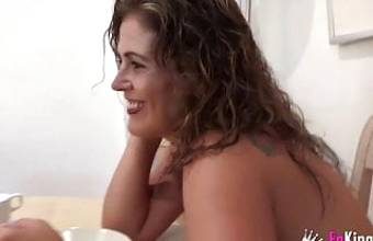 Spanish MILF Loves Young Cock