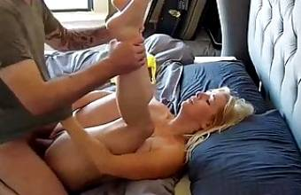 Stepmom Creampie on Homemade
