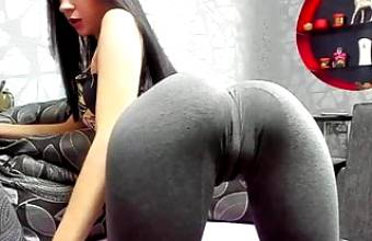 Tight ass babe in Leggings 26th July
