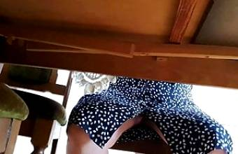 Under table mother in law