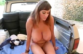 200. Sexy cowgirl big boobs