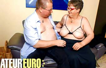 AMATEUREURO – Fat German Granny Gets Dicked Down By Husband