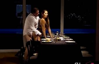 ANAL SEX ON THE TABLE FOR CLEA GAULTIER, THE SUBMISSIVE