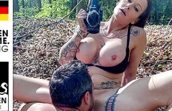 Andy Star fucks her pussy until he cums! StevenShame.dating