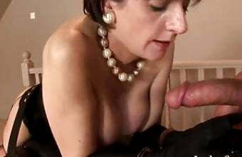 BDSM – British Babe With Big Tits Gets Fucked
