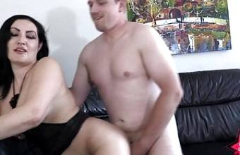 big booty Latina fucks German married man !!