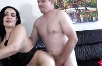 big booty Latina fucks German married man !!