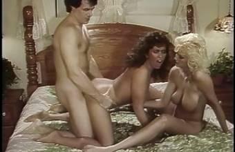 Big titty threesome with Keisha and Tami, upscaled to 4K
