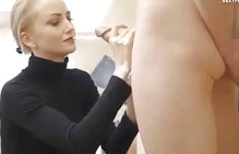 Blond Norsk Mamma Elsker Cum
