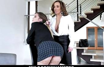 Bratty Teen Avery Cristy Fingerbanged By MILF Teacher