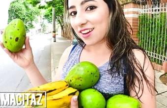 CARNE DEL MERCADO – Horny Agent Treats Latina To Hot Sex