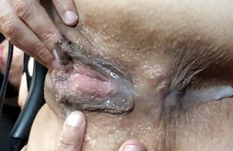 Compil fuck my wife creampie pussy slut cum in mouth on ass