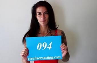 CZECH MILF ALI BORDEAUX ON SEX CASTING