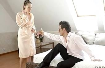DADDY4K. Beloved man catches his slutty girlfriend Jennifer