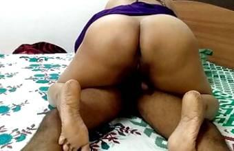 Desi Bhabhi Riding Devar's Dick All Night In Cowgirl Position