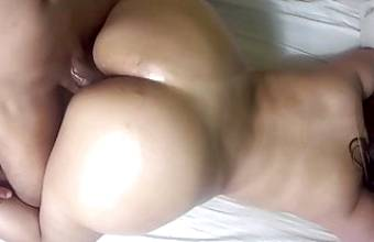 Fucking my stepsister's perfect big ass