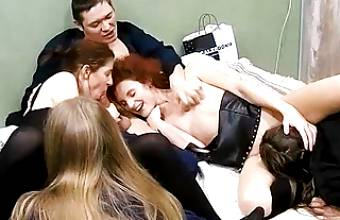 Full Stack – Adult Swinger Friends Have Late Group Sex Orgy Action