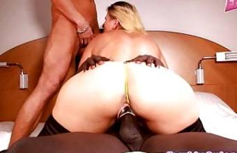 German Mother Big ass natural tits homemade 3some userdate