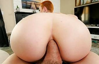 Ginger Babe Sidra Sage Drops Out Of School To Be A Pornstar