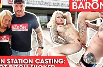 Harleen van Hynten sucks & fucks like a slut! Cambaron.com