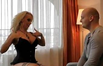 Hotel Fuck with Blonde Escort