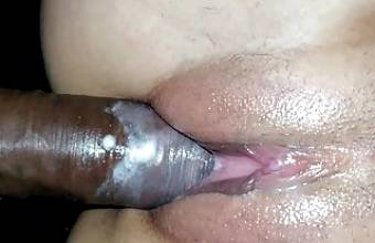 I Fucked HARD my White Stepsis – Big Black Cock FUCKED Pussy