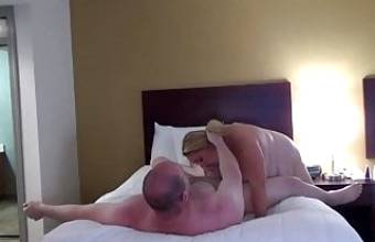 Kat gets fucked for cash angle 1