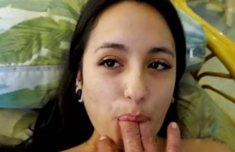 Mi Ha Doan Tastes Her Pussy on Your Fingers