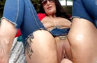 Milf and machine fucks