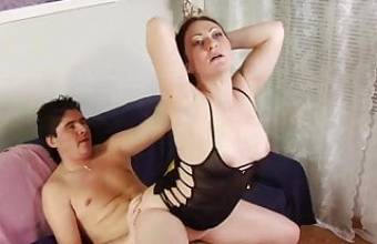 MTHRFKR, Over 40 Russian Mom Fucks Her Stepson (Roleplay)
