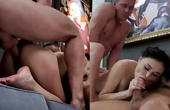 REAL THREESOME SEX OF PROFESSIONAL PORN ACTORS 03